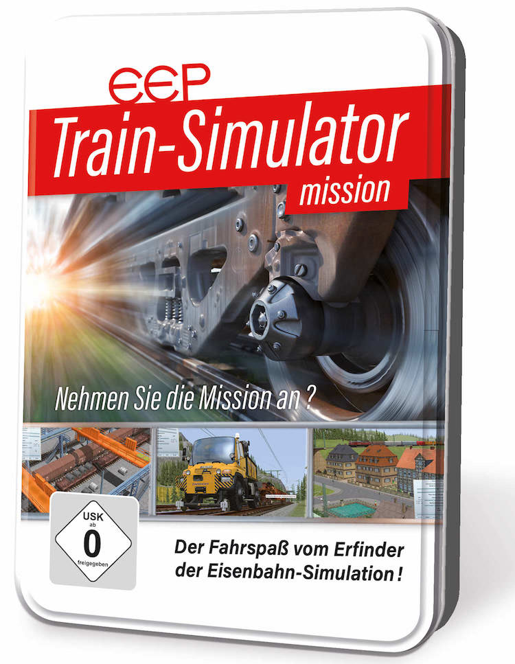 EEP Train Simulator mission Cover Box